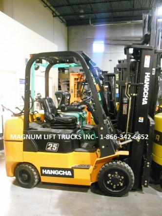 Hangcha RC25 Cushion Tire Forklift - Magnum Lift Trucks Inc