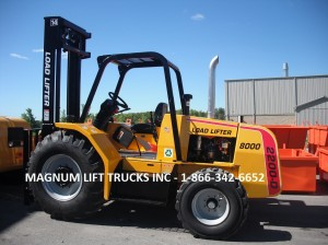 Load Lifter 2200-D Rough Terrain Forklift - Magnum Lift Trucks Inc