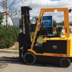 Hyster E60X2-33 Cushion Tire Forklift - Magnum Lift Trucks