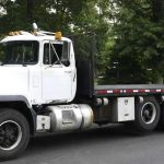 MACK RD688 with Hiab 330-3 Magnum lift Truck