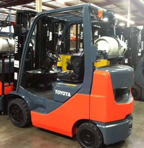 TOYOTA 8FGCU32 CUSHION TIRE FORKLIFT - MAGNUM LIFT TRUCKS